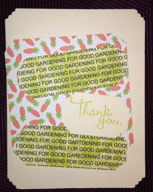 Thank you cards, made by JoJo