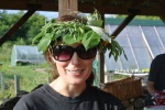 Laura's Laurel wreath on her birthday