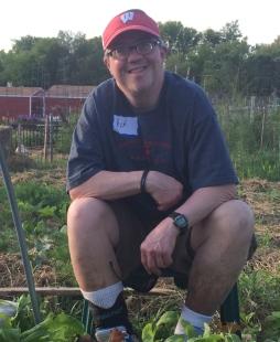 Rick, the champion lettuce harvester