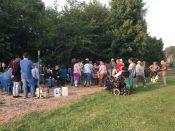 a big gathering